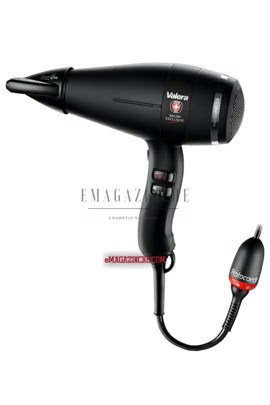 Valera  Професионален сешоар 2000 W Master Pro light 3.0 Soft black Rotocord Salon Exlusive/Dpo