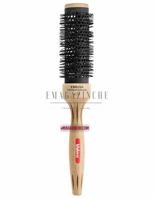 Valera Професионална термо-керамична четка за коса Ø33 мм.X-Brush thermo-ceramic round brush ideal for hot air styling/Dp