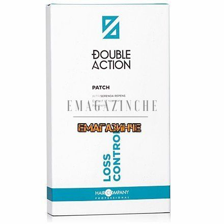 Hair Company Лепенки против косопад 6 бр.Double Action Loss Control Patch/Dp